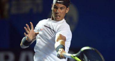 Nadal abatió a Lorenzi y va a cuartos de final en el Abierto Mexicano de Tenis