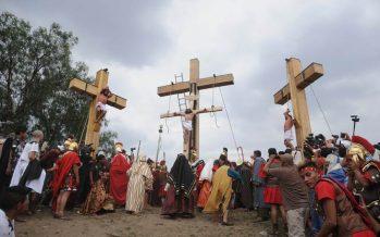 Pedirán que la Pasión de Cristo de Iztapalapa sea declarada Patrimonio de la Humanidad