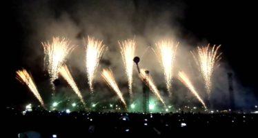 Concluyó la Feria Nacional de la Pirotecnia, en Tultepec