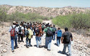 'Polleros' y agentes de migración se van quedando sin trabajo en la frontera