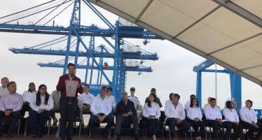 Peña Nieto inaugura nuevo puerto y distribuidor vial en Tuxpan, Veracruz