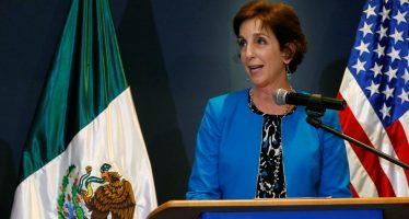 Embajadora de EU reconoce labor de México en condena contra homicida de periodista