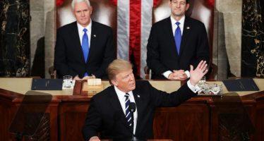 Cacería a 'inmigrantes criminales'; beneficio migratorio a quienes hagan méritos: Trump ante Congreso