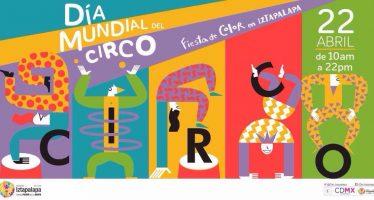 Celebrarán el dia mundial del circo en iztapalapa