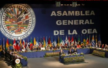 """Se celebrará en México la Asamblea General de la OEA; """"Alta distinción y responsabilidad"""""""