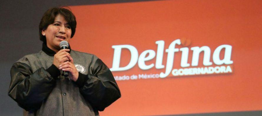 Reconoce Delfina Gómez que hubo descuento a nómina de empleados de Texcoco