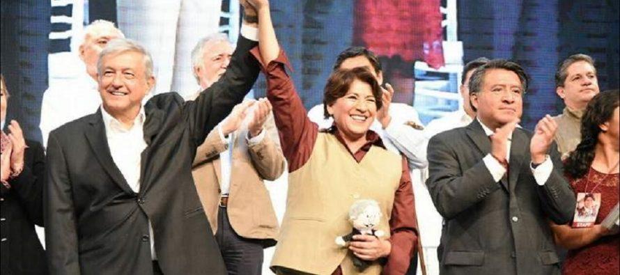 Delfina Gómez niega acusación sobre dinero al final de su mandato en Texcoco