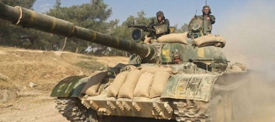 Ejército sirio destruye posiciones de terroristas en varias zonas del país