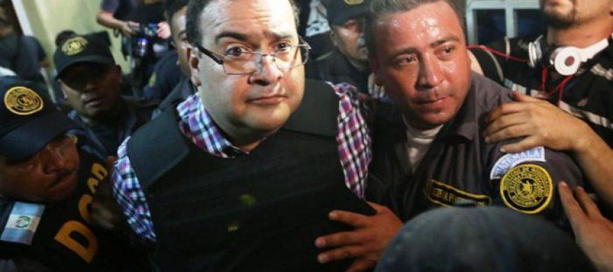 Comparece Javier Duarte ante Tribunal de Guatemala
