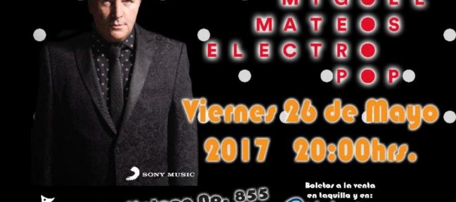 """Miguel Mateos regresa a México para presentar su nuevo disco """"Electropop"""""""