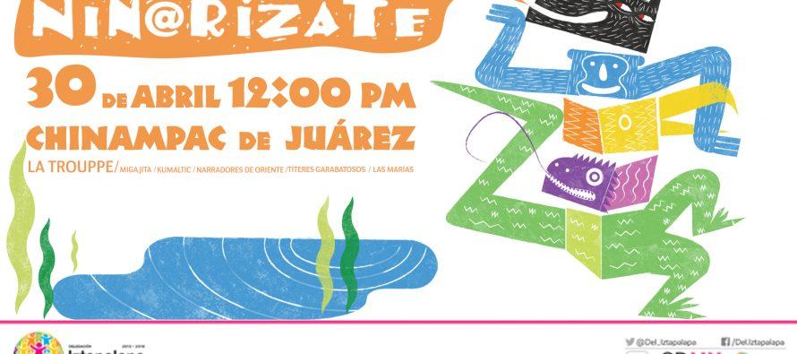 Iztapalapa celebrará a los niños conniñ@rizate