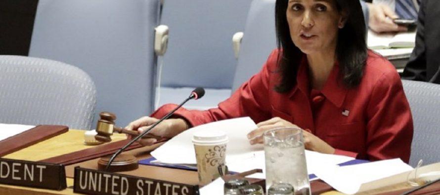 """EU, preparado para """"hacer más"""" en Siria; """"esperamos no sea necesario"""": Nikki Haley"""