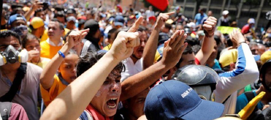 La SIP condena abusos de poder y actos contra protestas al gobierno de Venezuela