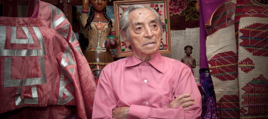 Murió Ramón Valdiosera, polifacético artista, impulsor del color rosa mexicano