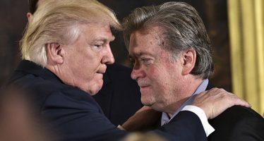 """Bannon se disculpa con Donald Trump Jr.: es un """"patriota"""""""