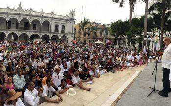 Partido Morena recibió recursos de la administración de Javier Duarte: Yunes
