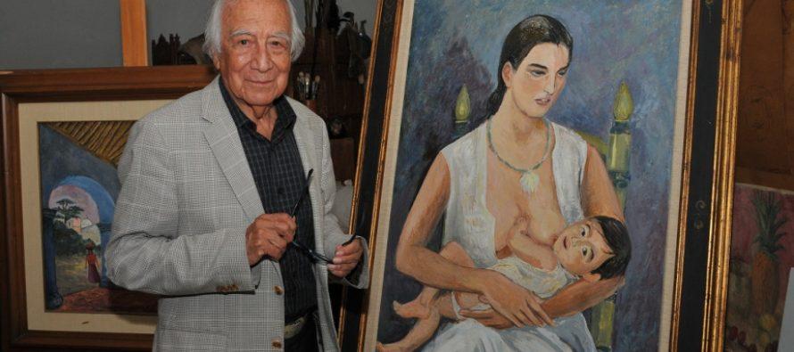 Falleció el pintor, muralista y grabador Arturo García Bustos