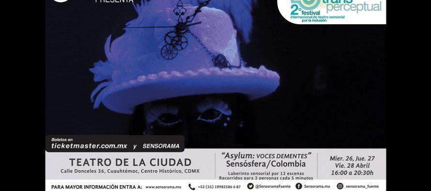 Obra de teatro: Asylum voces dementes