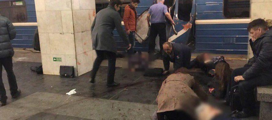 Atentado explosivo en el Metro de San Petersburgo causa al menos 10 muertos