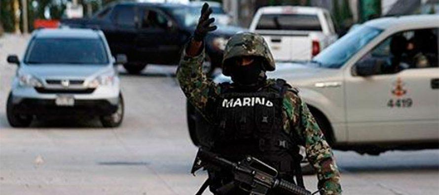 Marina repelió disparos con arma en tres acciones en Reynosa; mueren dos agresores