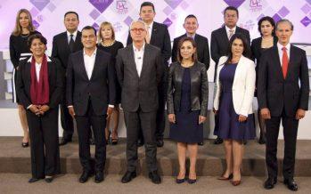 Ataques, descalificaciones y nada de debate en el encuentro entre candidatos al Edomex
