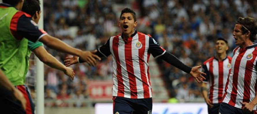 Chivas va como finalista de la Copa MX al vencer a Monterrey 2-1