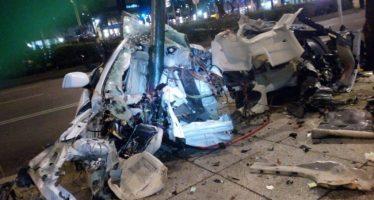 Hombre que chocó BMW en Reforma iba ebrio a más de 180 km/h