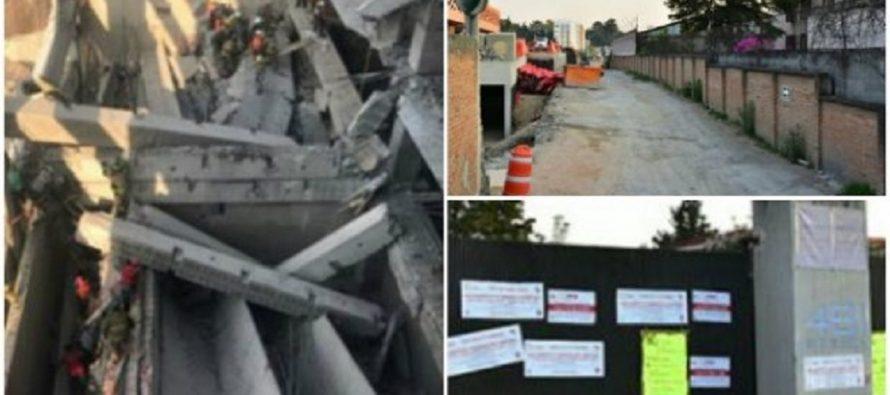 Bajo averiguación previa, la construcción derrumbada en la Álvaro Obregón