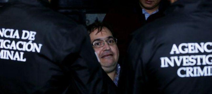 Tribunal Quinto recibe la solicitud de extradición de Javier Duarte