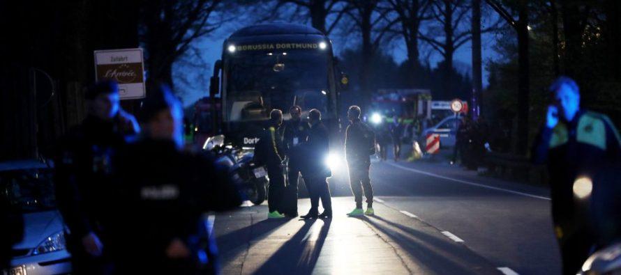 Suspenden partido del Dortmund vs. Mónaco por explosión en autobús del primero