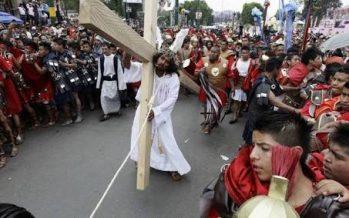 Reportan saldo blanco en representación del Vía Crucis de Iztapalapa