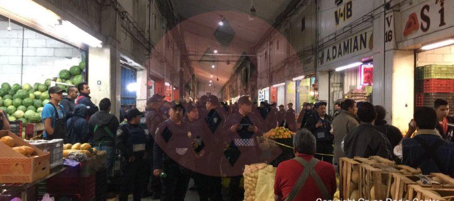 Matan a comerciante de la Central de Abastos; detienen a agresor