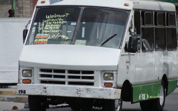 Microbuses y autobuses de la CDMX suben un peso desde este jueves