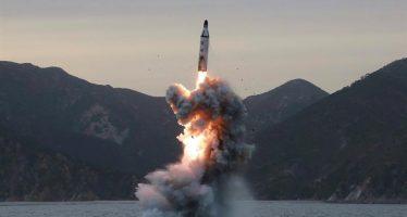 Corea del Sur lanza misil balístico como advertencia a Corea del Norte