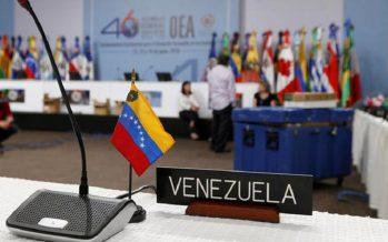 Tras votación, la OEA convoca reunión de cancilleres por crisis en Venezuela