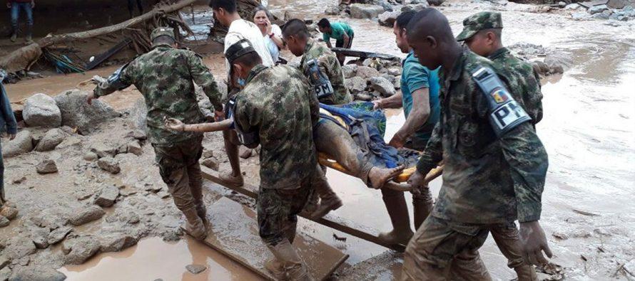 Se eleva a 154 el número de muertos por avalancha de tres ríos en Colombia