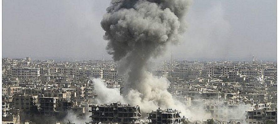 Bombardeo de la coalición en Siria deja saldo de al menos 15 muertos