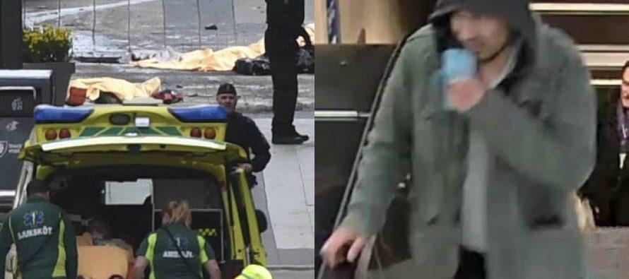 Policía sueca difunde fotos de sospechoso de atropellar peatones en Estocolmo