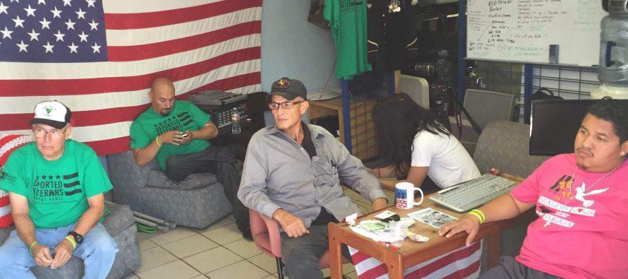 Veteranos de guerra de EU son deportados a México
