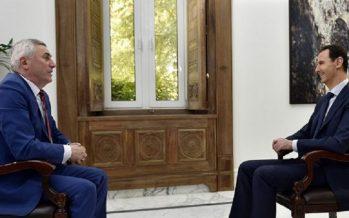Terrorismo, instrumento de potencias supremacistas: Al Assad a TV bielorrusa