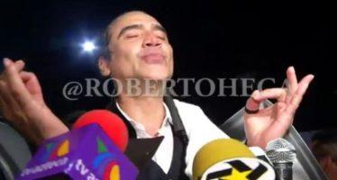 """El """"Potrillo"""" nuevamente se pone ebrio durante concierto"""