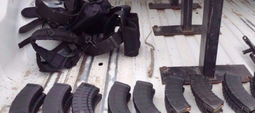 PGR asegura armas y cartuchos en varios puntos de Reynosa