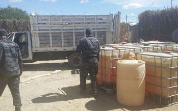 PGR asegura más de 132 mil litros de combustible robado en siete estados