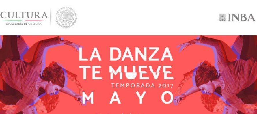 """Actividades programadas del 1 al 15 de mayo del presente año """"Muévete con la danza"""""""