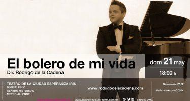 """Rodrigo de la Cadena lanza """"El bolero de mi vida"""""""
