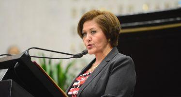 Integrantes de Morena presentan denuncia contra diputada Eva Cadena