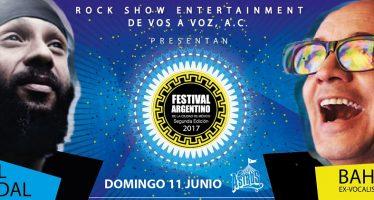 Fidel Nadal y bahiano son los primeros confirmados del festival argentino en la Carpa Astros
