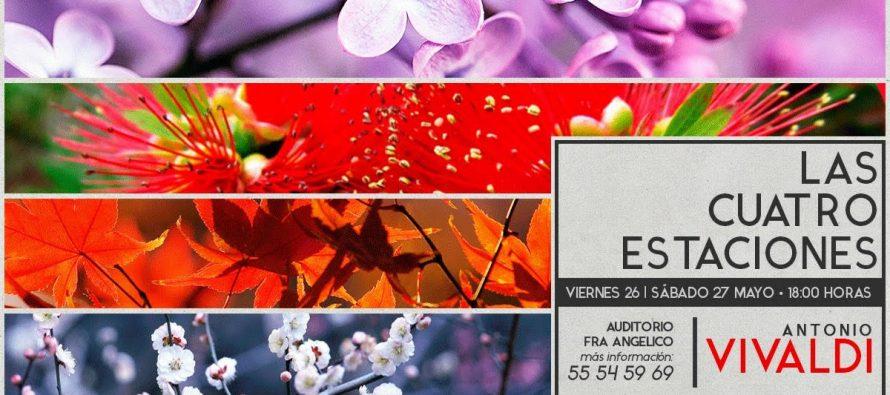 La Filarmónica de las Artes presentará el disco de Las Cuatro Estaciones de A. Vivaldi en dos conciertos