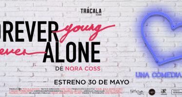 El absurdo de las relaciones humanas es el tema de Forever Young Never Alone, el más reciente proyecto teatral de la dramaturga y directora mexicana Nora Coss