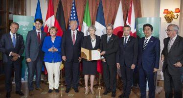 Países del G7 firman declaración de lucha contra el terrorismo; abordan peligros de Internet